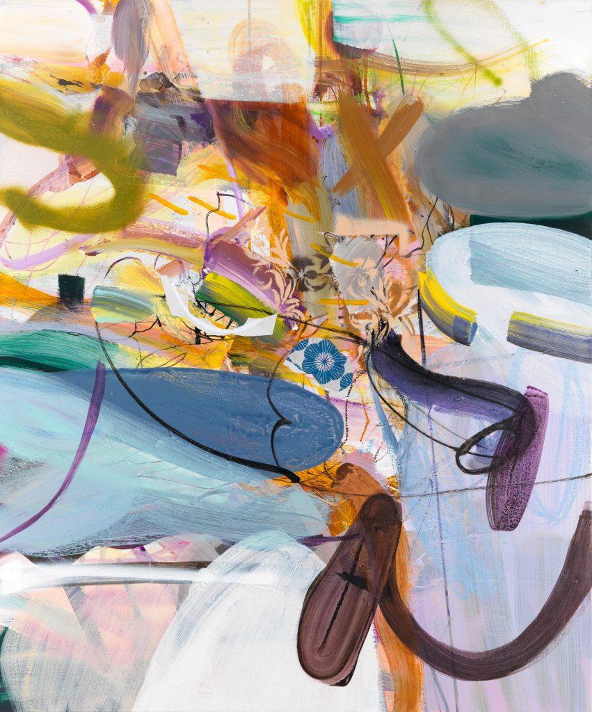 Symphony, 120 x 100 cm, Mixed Media on Canvas, 2020