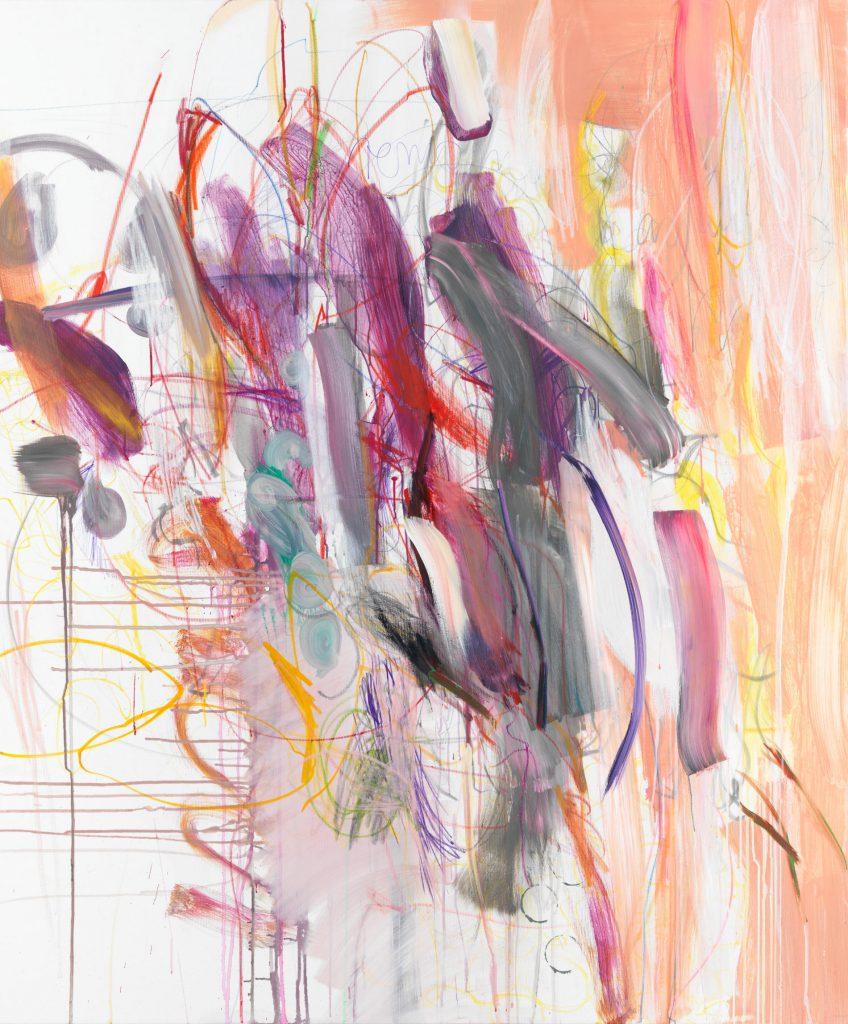 Das Leben ein Traum III,180 x 140 cm, Mixed Media onCanvas, 2021