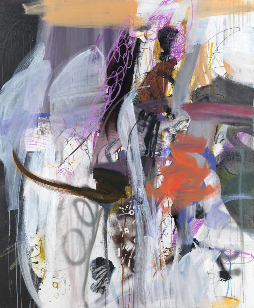 Das Leben ein Traum II, 180 x 140 cm, Mixed Media onCanvas, 2020/20/21