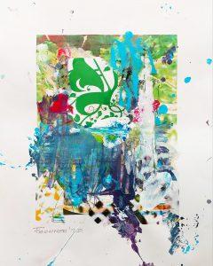 ohne Titel, 29,7 x 21 cm, Mixed Media on Paper, 2020