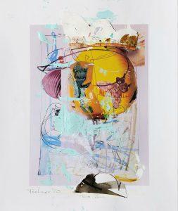 ohne titel, 29,7 x 21 cm, Mixed Media Paper, 2020